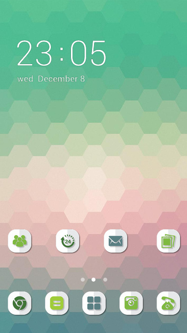 Hexagon Green