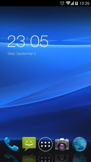 Theme for Sony Xperia pro HD