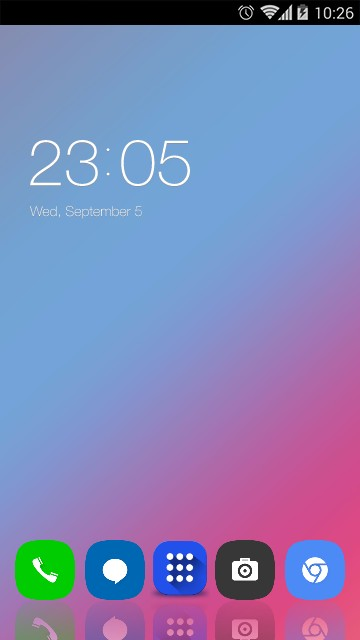 Theme for lenovo K6 Note HD