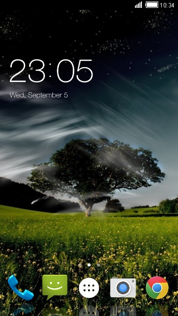 Theme for Karbonn K220 Scenery Wallpaper