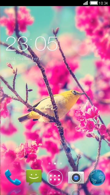 Flower Live Wallpaper for Micromax Bolt S300