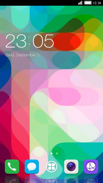 Theme for Ascend P2: Color Wallpaper & Icons