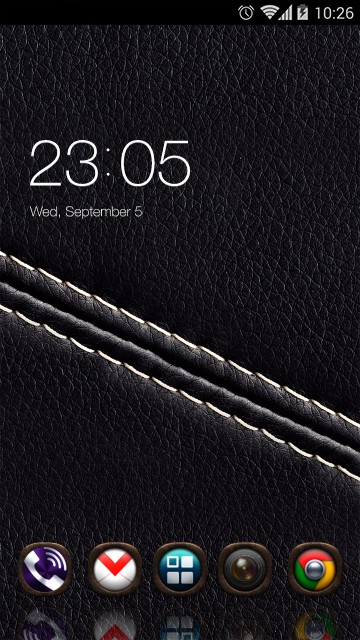 Black Texture Theme Leather Thread Wallpaper