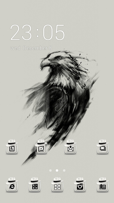 eagle art black