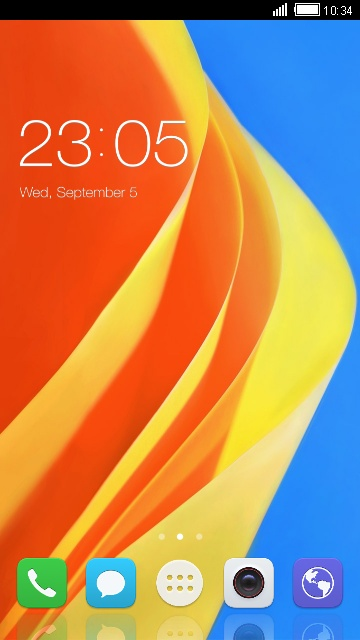 Theme for Ascend P8