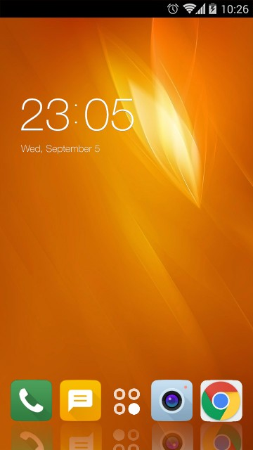 Theme for Panasonic T50 HD