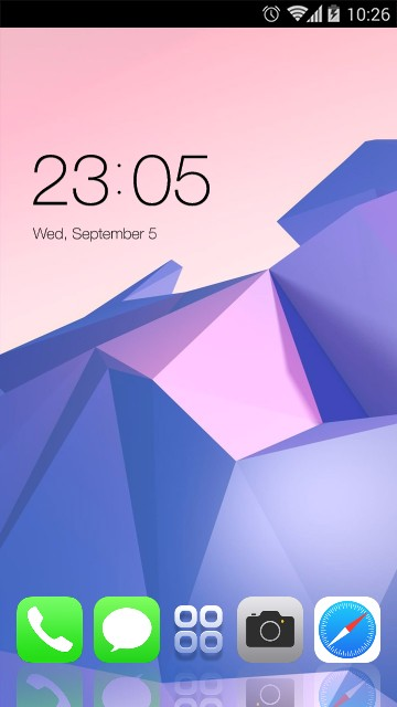 Theme for iPhone X: Abstract Geometry