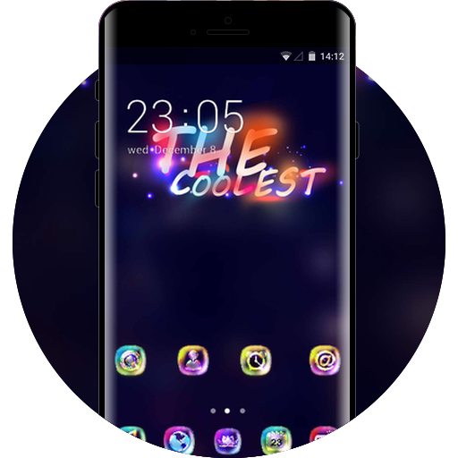 Neon theme colorful fantasy wallpaper