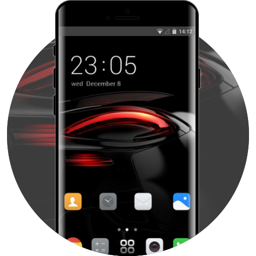 Huawei P20 Pro theme free android theme – U launcher 3D
