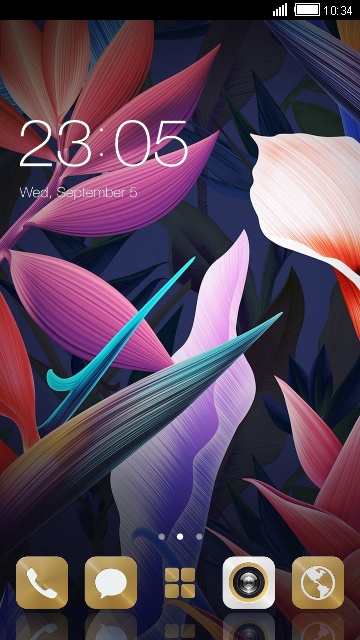 Theme for Ascend P1 S