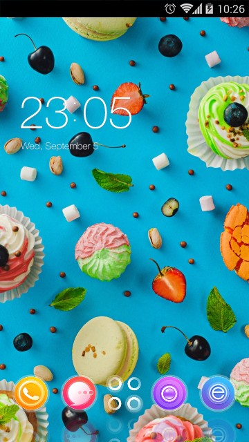 Sweet Food Theme