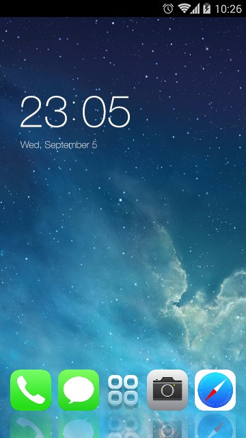Theme for iPhone5s HD