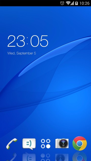 Theme for Sony Xperia E4g HD