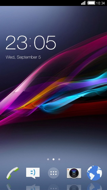 Themes for Sony Xperia E1