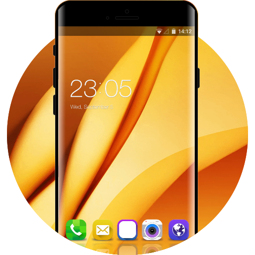 Samsung Galaxy On7 Pro free android theme – U launcher 3D