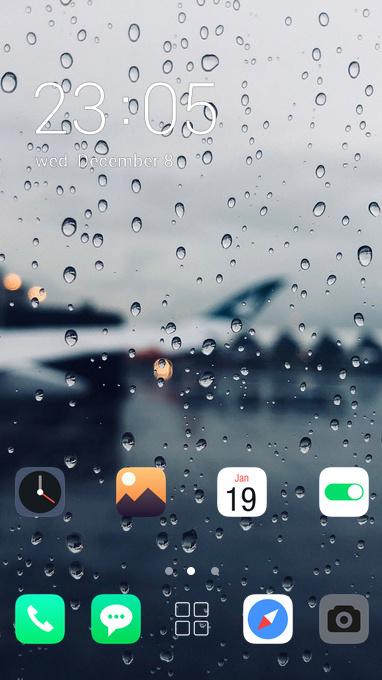 pure raindrops