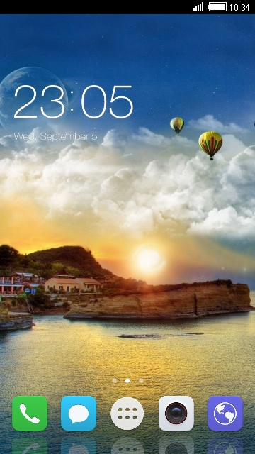 Theme for Huawei Y360