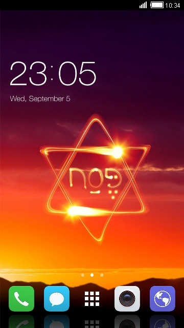 Cool Theme for Vivo Y51L: Star of David