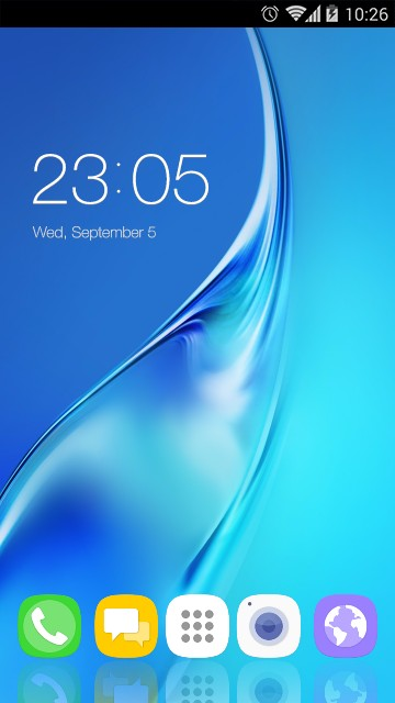 Theme for Galaxy J3 Pro HD