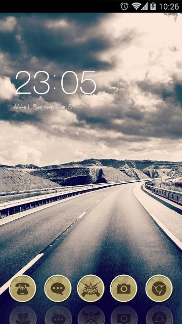 Landscape Theme Highway Road Live Wallpaper