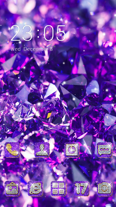 Crystal theme