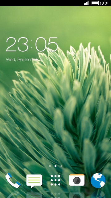 Theme for HTC One (E8) Nature Wallpaper
