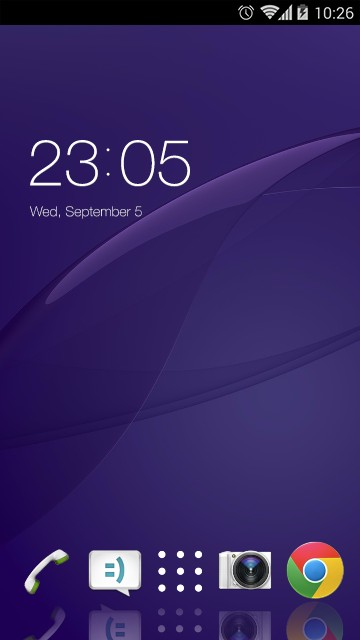 Theme Sony Xperia Z2 Wallpaper