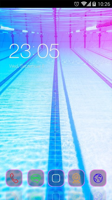 Cool Theme UnderWater Live Wallpaper