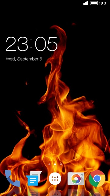 Theme for Lyf Flame 2 Flame Wallpaper