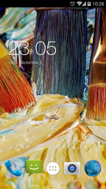 Theme for Micromax A65 Smarty 4.3 HD