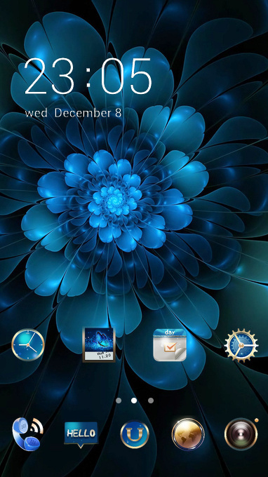 Galaxy G10 flower