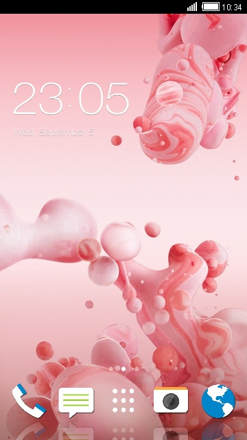 Theme for HTC Desire 7060