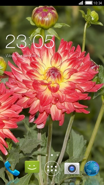 Theme for Spice M-5262 Beautiful Nature Wallpaper