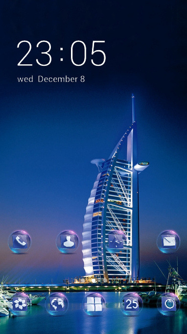 Nature theme dubai united arab emirates wallpaper