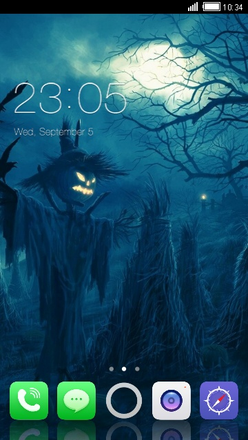 the haunted ios 8