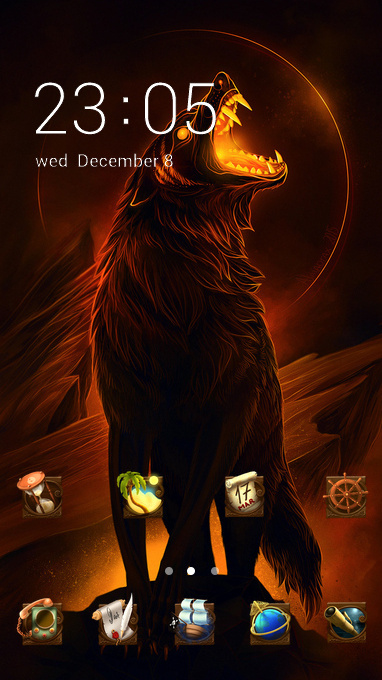 Howling wolf king