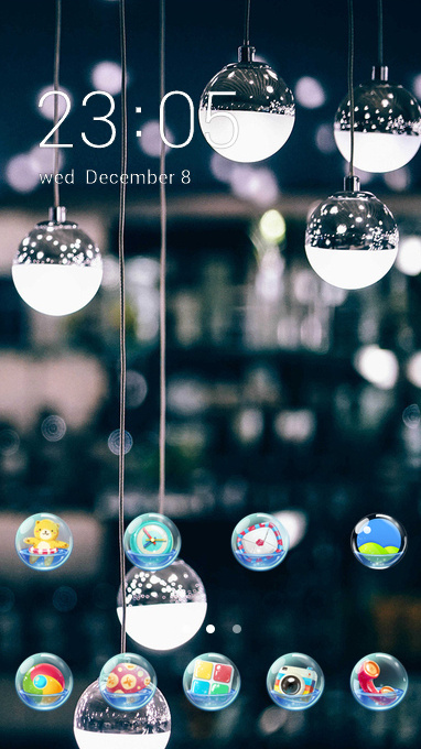 clear lights theme