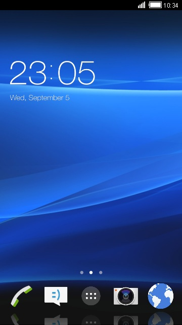 Themes for Sony Xperia neo