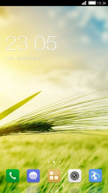 Theme for Gionee S11S