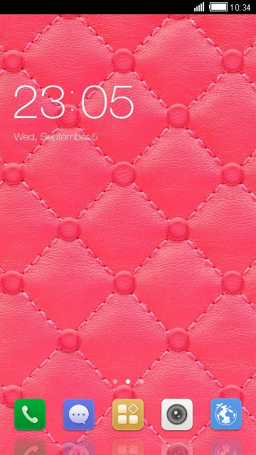 P7 Gionee Red Amigo Theme & Wallpaper Icon Pack