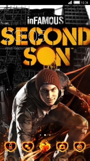 in famous second son