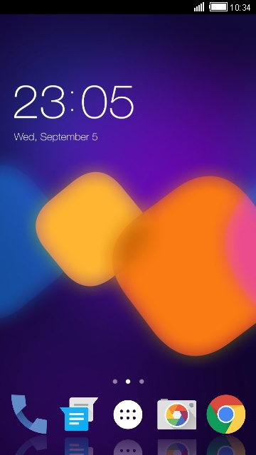 Theme for Alcatel OneTouch Pixi 3 (5.5) 3G