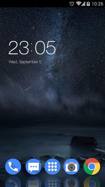 Theme for Nokia 8: Galaxy