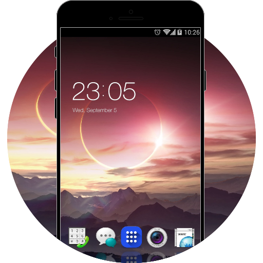 Theme for Oppo Find 7a HD free android theme – U launcher 3D