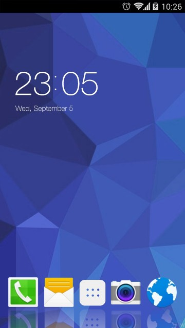 Samsung Galaxy Core 4G Theme