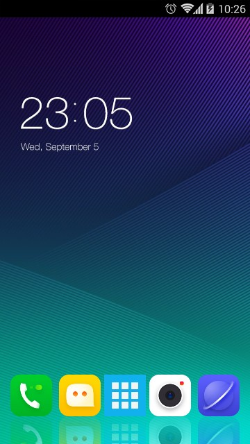 Theme for Lenovo Vibe P1m HD