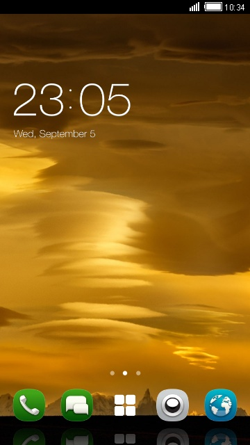 Theme for Nokia X3-02