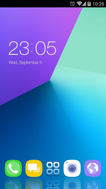 Theme for Galaxy C9 Pro HD