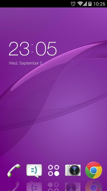 Theme for Sony Xperia Z3 Dual HD