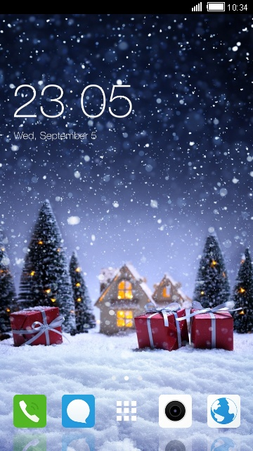 Christmas Themes for Oppo A57